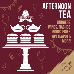 Arbuckles Afternoon Tea Graphic
