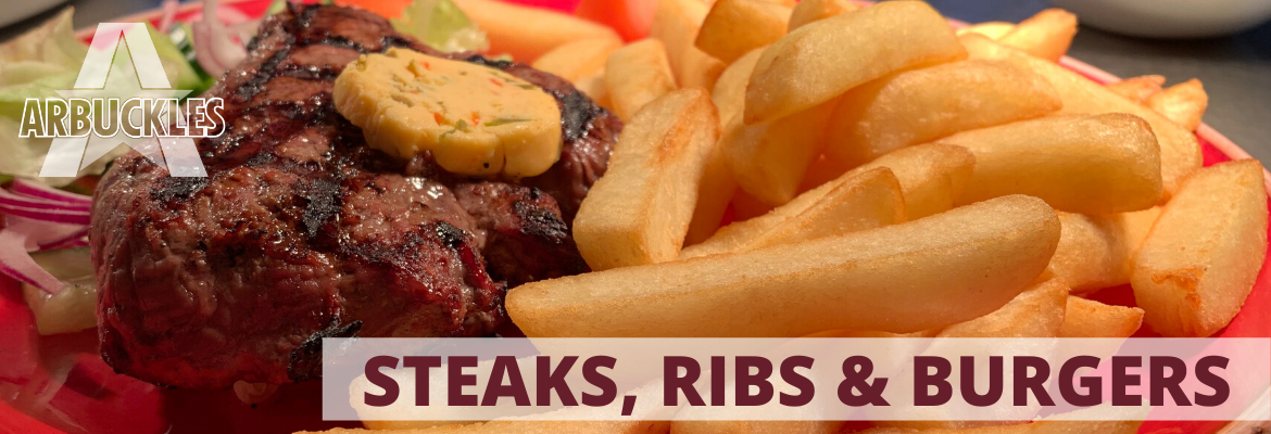 Arbuckles Steak Header